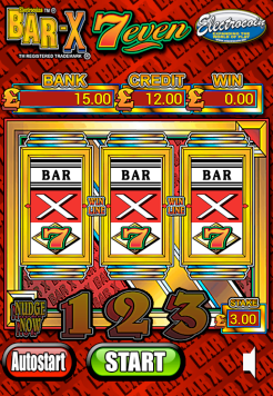 Bar-X 7 Mobile game from Electrocoin and PocketFruity